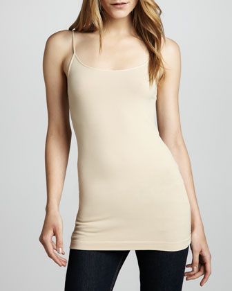 Knit Jersey Camisole, Nude