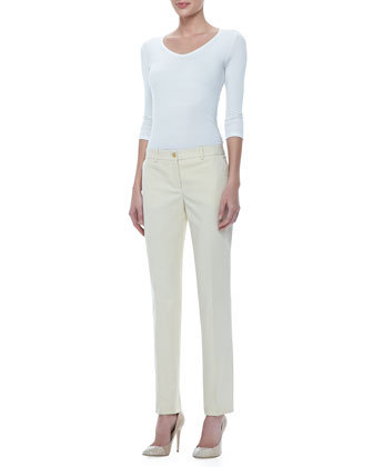 Samantha Slim Cotton Pants