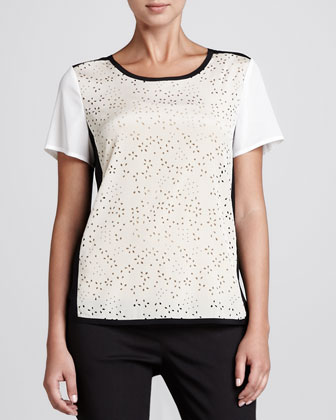Laser-Cut Blouse