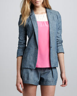 MARC by Marc Jacobs Corey Chambray Blazer