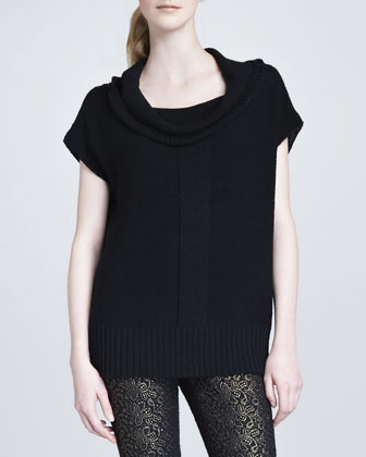 Jackson Cap-Sleeve Sweater