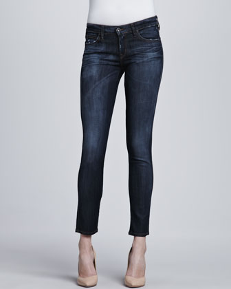 Skinny Ankle Peg Jeans, Eleanor