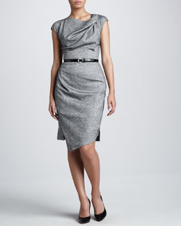 Michael Kors St. Donegal Belted Sheath