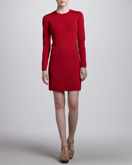 Michael Kors Long-Sleeve Knit Dress