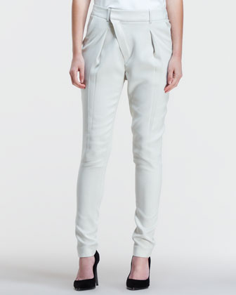 Noa Tapered Pleated Suit Pants