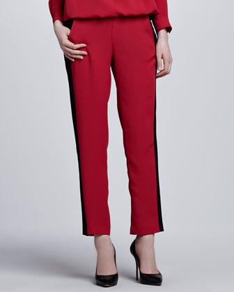 Colorblock Tuxedo Pants