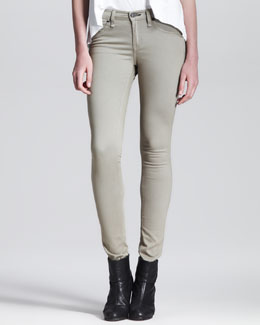 rag & bone/JEAN The Legging Jeans, Desert Khaki