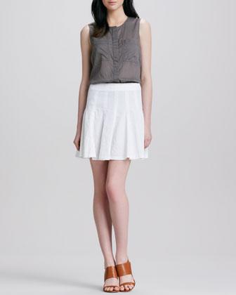 Eliza Fluted Skirt