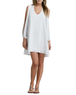 Lovers + Friends Gracie Slit-Sleeve Dress