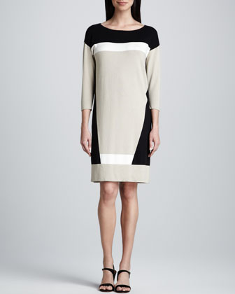 Colorblock Tunic Dress