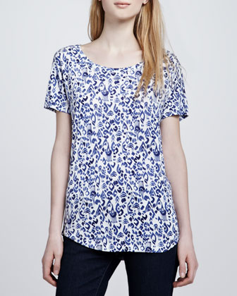 Agacia Printed Top