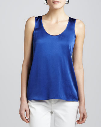 Charmeuse Soft Tank, Women's