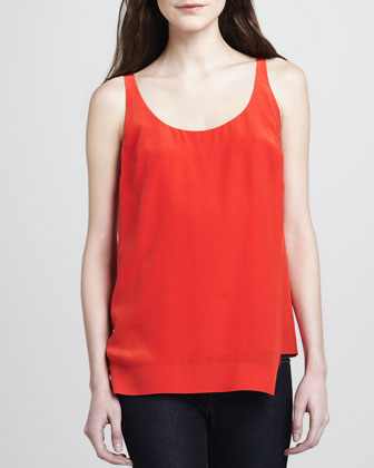 Ester Sleeveless Silk Top