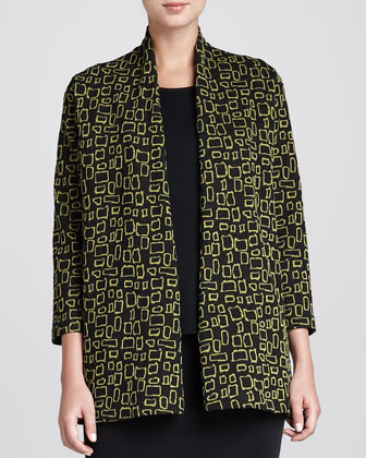 Abstract Squares Jacket