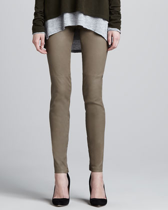 Leather Leggings, Metal
