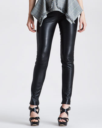 Marine Leather Pants