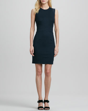 Gretchen Dress, Blackened Blue