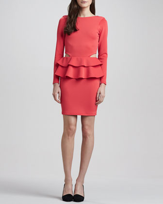 Dakota Double-Peplum Dress