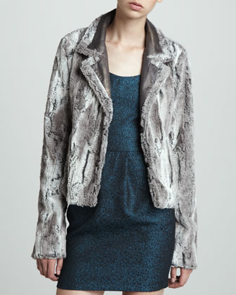 Leyton Faux-Fur Jacket