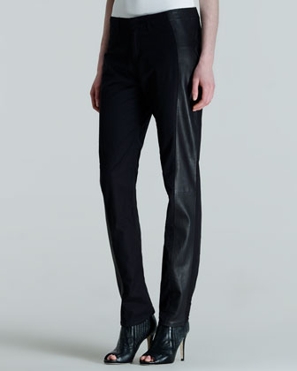 Hyde Portobello Leather-Side Pants