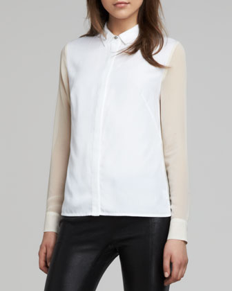Harriet Two-Tone Blouse