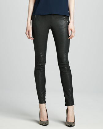 Morgan Leather Pants