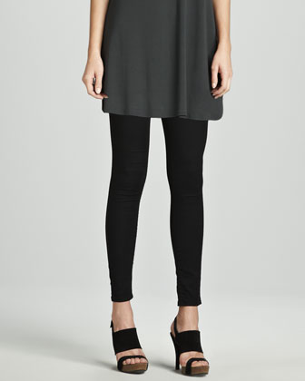 Viscose Jersey Tunic & Stretchy Jean Leggings