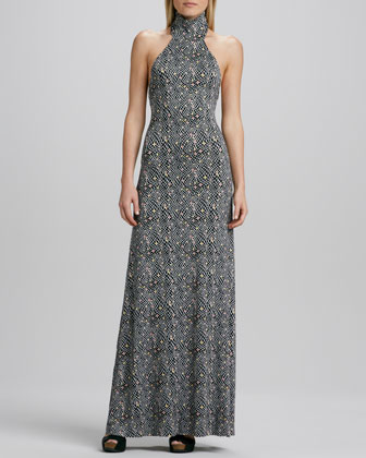 Romanni Halter Dress