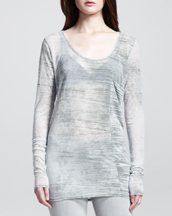 Shift Threadbare Long-Sleeve Tee