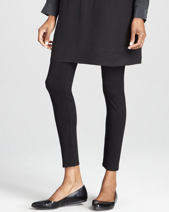 Viscose Jersey Ankle Leggings