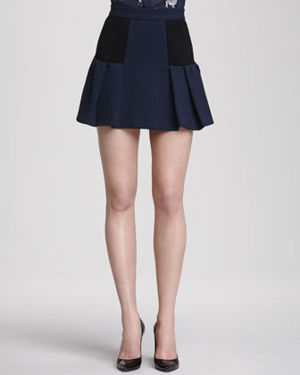 Linder A-Line Skirt with Inset