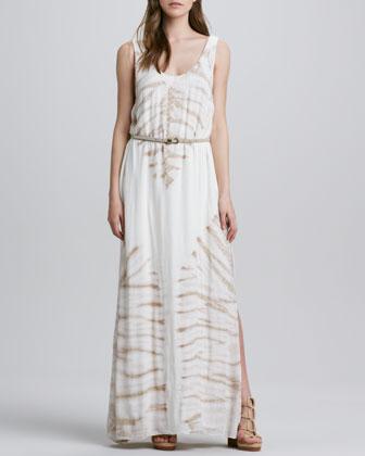 Shayne Printed Maxi Dress