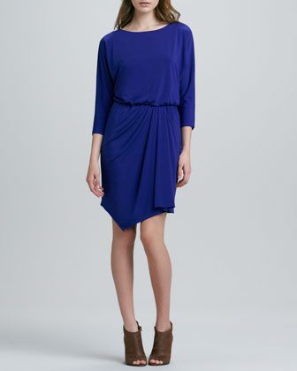 Sydelle Draped Jersey Dress