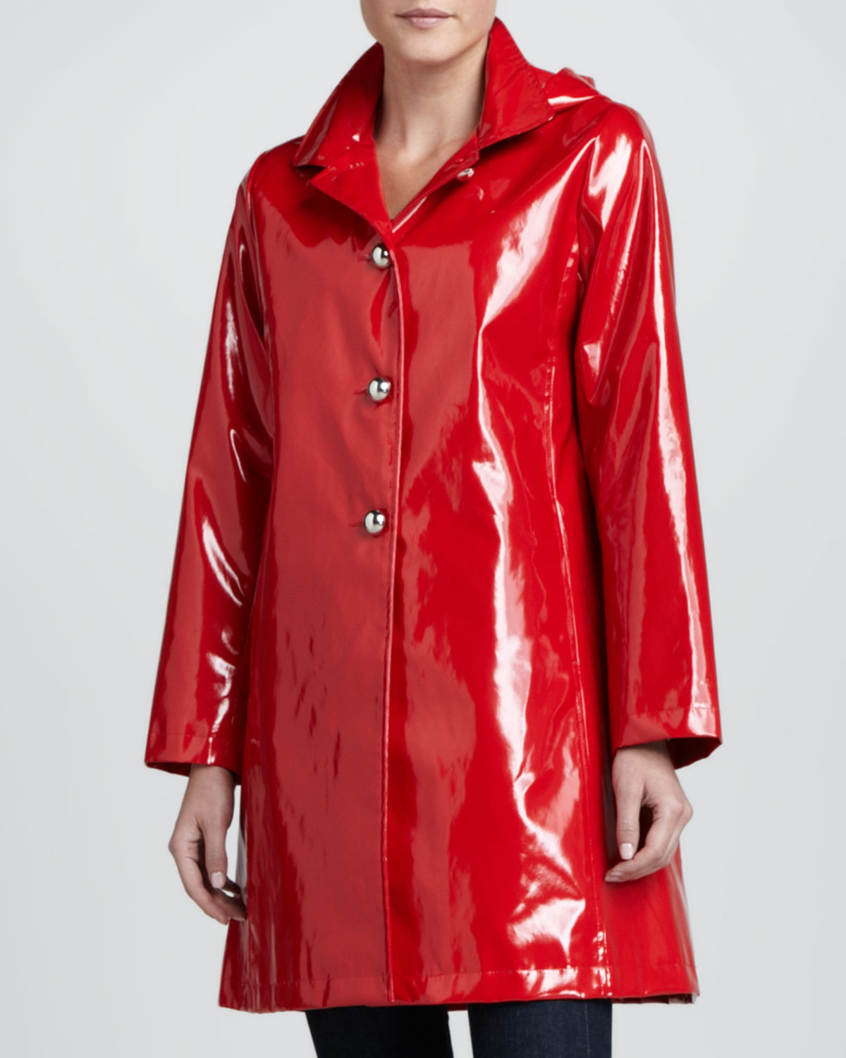 Womens Princess Rain Slicker With Detachable Hood Jane