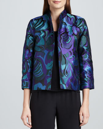 Emerald City Jacquard Jacket