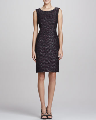 Estelle Sparkle Tweed Dress