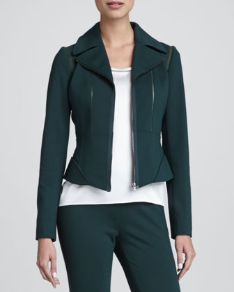 Macey Zip-Front Jacket