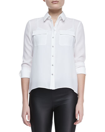 Delaney Long-Sleeve Blouse