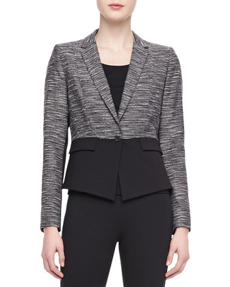 Lyla One-Button Jacket