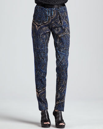 Exotic Mystical Printed Pants