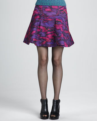 Outer Space Printed Skirt