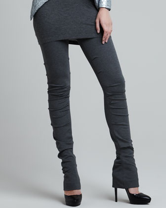 Ruched Long Leggings