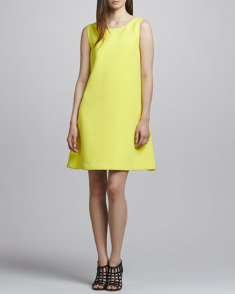 Kirk Low-Back Crepe Dress