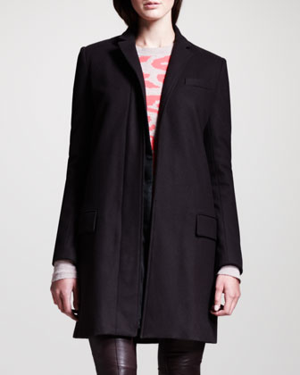 Bird Long Felt Coat