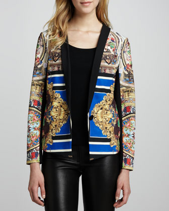 Russian Room Printed Jacket