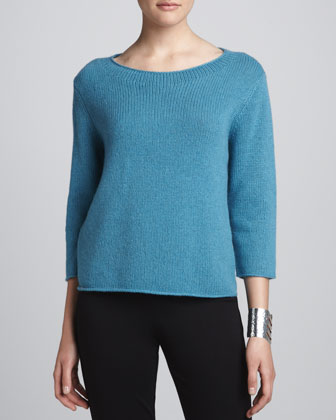 Cropped Yak-Wool Sweater
