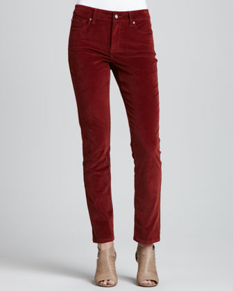 Barbara Boot-Cut Corduroy Jeans