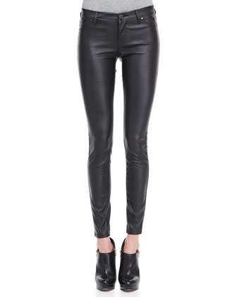 Vegan-Leather Ankle Leggings (Stylist Pick!)
