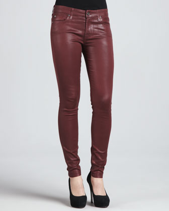 High-Shine Skinny Pants