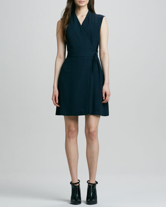 Eldah Sleeveless Wrap Dress